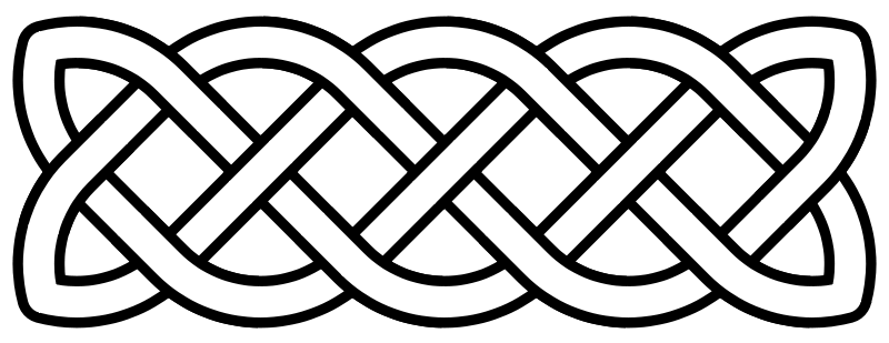 celtic knot crosss stitch